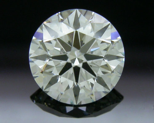 0.77 ct I SI1 A CUT ABOVE® Hearts and Arrows Super Ideal Round Cut Loose Diamond