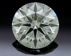 0.51 ct K VS2 A CUT ABOVE® Hearts and Arrows Super Ideal Round Cut Loose Diamond