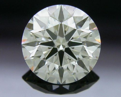 0.552 ct J SI1 A CUT ABOVE® Hearts and Arrows Super Ideal Round Cut Loose Diamond