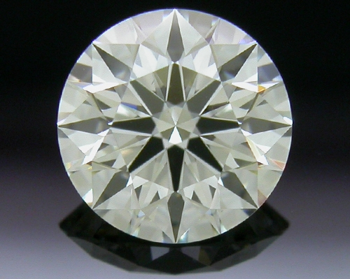 0.53 ct K SI1 A CUT ABOVE® Hearts and Arrows Super Ideal Round Cut Loose Diamond