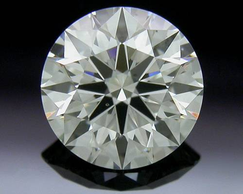 0.52 ct J SI1 A CUT ABOVE® Hearts and Arrows Super Ideal Round Cut Loose Diamond