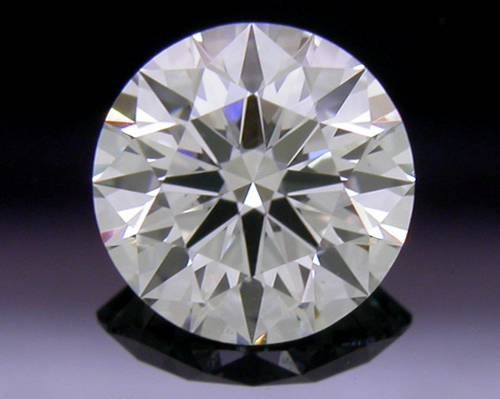 0.575 ct I SI1 A CUT ABOVE® Hearts and Arrows Super Ideal Round Cut Loose Diamond
