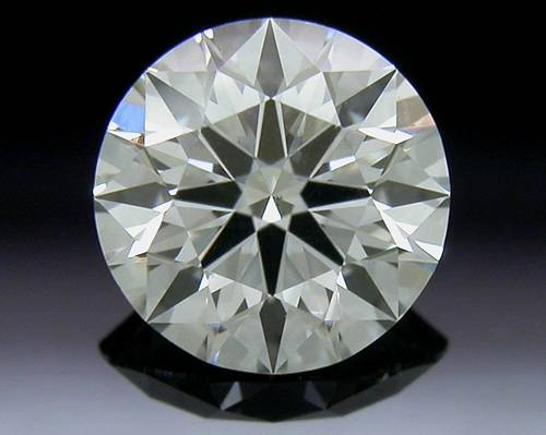 0.531 ct I VS2 A CUT ABOVE® Hearts and Arrows Super Ideal Round Cut Loose Diamond