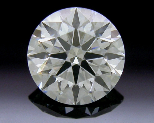 0.587 ct H SI1 A CUT ABOVE® Hearts and Arrows Super Ideal Round Cut Loose Diamond