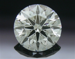 0.611 ct H VS2 A CUT ABOVE® Hearts and Arrows Super Ideal Round Cut Loose Diamond