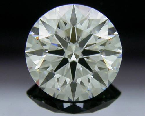 0.743 ct F SI1 A CUT ABOVE® Hearts and Arrows Super Ideal Round Cut Loose Diamond