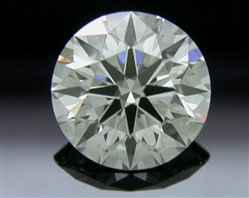 0.71 ct H VVS2 A CUT ABOVE® Hearts and Arrows Super Ideal Round Cut Loose Diamond