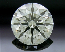 0.76 ct H VS1 A CUT ABOVE® Hearts and Arrows Super Ideal Round Cut Loose Diamond