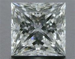 0.72 ct E VS1 A CUT ABOVE® Princess Super Ideal Cut Diamond