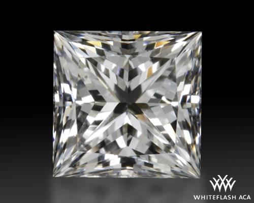 0.551 ct E VS1 A CUT ABOVE® Princess Super Ideal Cut Diamond