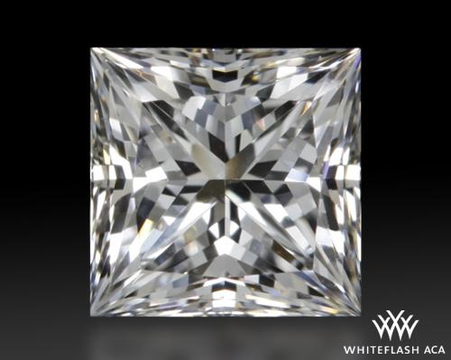 0.527 ct E SI1 A CUT ABOVE® Princess Super Ideal Cut Diamond
