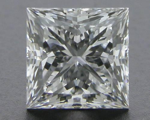 0.535 ct F VVS2 A CUT ABOVE® Princess Super Ideal Cut Diamond