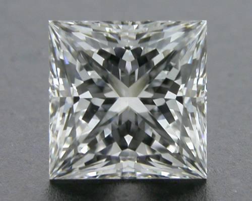 0.56 ct F VVS1 A CUT ABOVE® Princess Super Ideal Cut Diamond