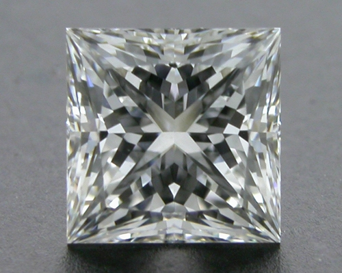 0.56 ct F VVS1 A CUT ABOVE® Princess Super Ideal Cut Diamond