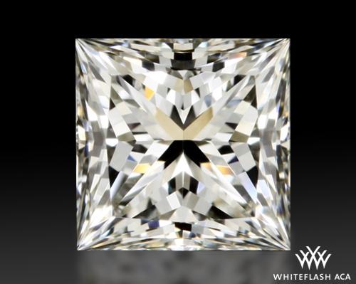 0.748 ct J VVS1 A CUT ABOVE® Princess Super Ideal Cut Diamond