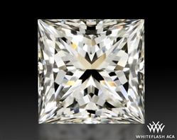 0.748 ct J VVS1 A CUT ABOVE® Princess Super Ideal Cut Diamond