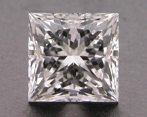 0.557 ct E VVS1 A CUT ABOVE® Princess Super Ideal Cut Diamond