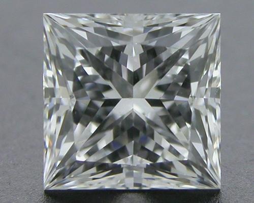 0.526 ct F VVS1 A CUT ABOVE® Princess Super Ideal Cut Diamond