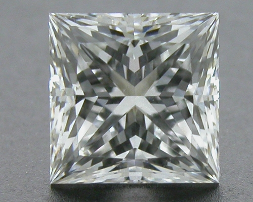 0.53 ct G VVS2 A CUT ABOVE® Princess Super Ideal Cut Diamond