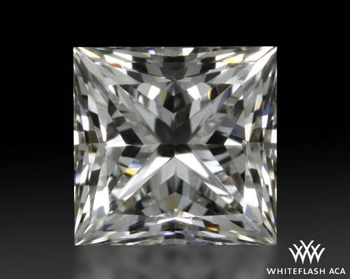 0.708 ct J VS1 A CUT ABOVE® Princess Super Ideal Cut Diamond