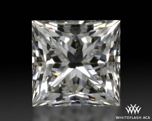 0.708 ct J VS1 A CUT ABOVE® Princess Super Ideal Cut Diamond