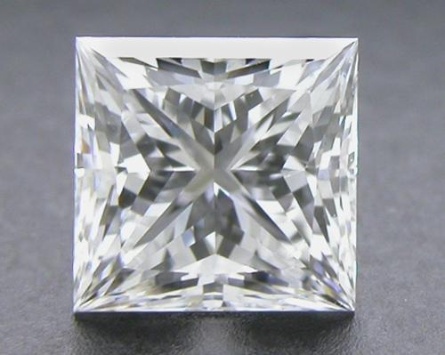 0.521 ct E VVS2 A CUT ABOVE® Princess Super Ideal Cut Diamond