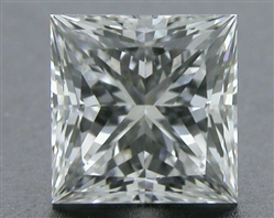 0.505 ct F VS1 A CUT ABOVE® Princess Super Ideal Cut Diamond