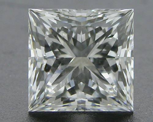 0.522 ct F VVS1 A CUT ABOVE® Princess Super Ideal Cut Diamond