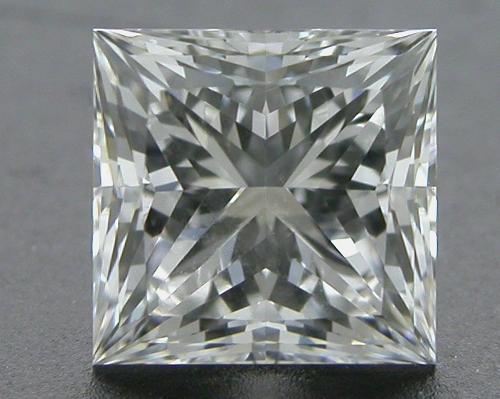 0.522 ct F VVS1 A CUT ABOVE® Princess Super Ideal Cut Diamond