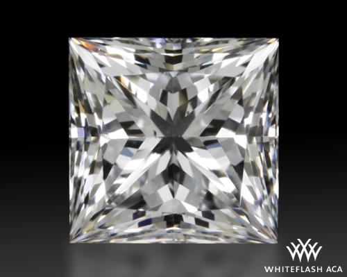 0.521 ct F VS2 A CUT ABOVE® Princess Super Ideal Cut Diamond