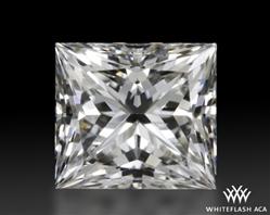 0.528 ct G VVS2 A CUT ABOVE® Princess Super Ideal Cut Diamond