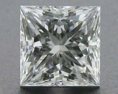 0.558 ct H VVS1 A CUT ABOVE® Princess Super Ideal Cut Diamond