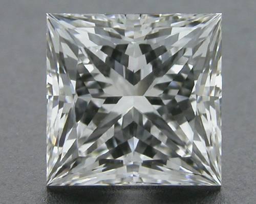 0.707 ct F VVS1 A CUT ABOVE® Princess Super Ideal Cut Diamond
