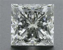 0.716 ct G VS1 A CUT ABOVE® Princess Super Ideal Cut Diamond