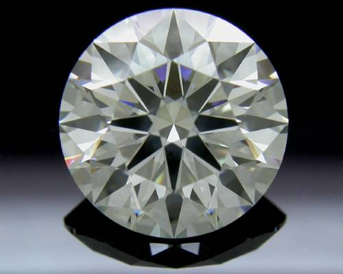2.376 ct J SI2 A CUT ABOVE® Hearts and Arrows Super Ideal Round Cut Loose Diamond