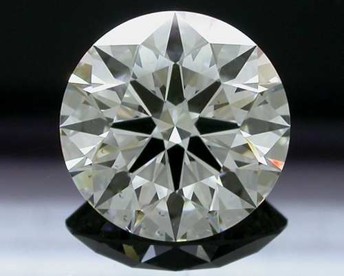 2.266 ct J SI1 A CUT ABOVE® Hearts and Arrows Super Ideal Round Cut Loose Diamond