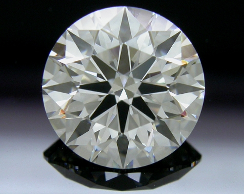 1.591 ct G VS2 A CUT ABOVE® Hearts and Arrows Super Ideal Round Cut Loose Diamond