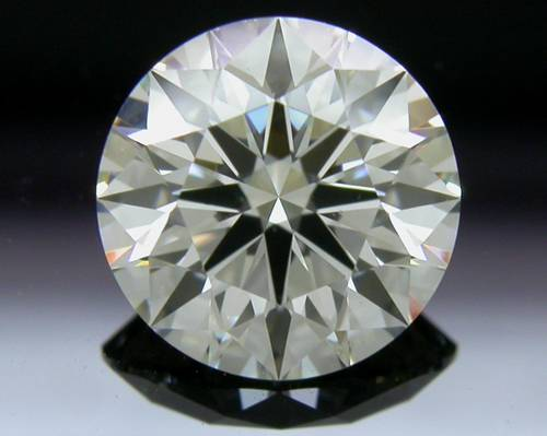 1.128 ct J SI1 A CUT ABOVE® Hearts and Arrows Super Ideal Round Cut Loose Diamond