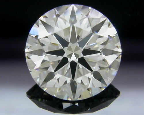 1.096 ct H SI1 A CUT ABOVE® Hearts and Arrows Super Ideal Round Cut Loose Diamond