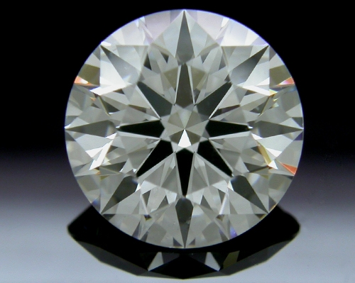 1.671 ct G SI1 A CUT ABOVE® Hearts and Arrows Super Ideal Round Cut Loose Diamond