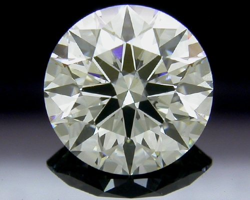 1.074 ct I SI1 A CUT ABOVE® Hearts and Arrows Super Ideal Round Cut Loose Diamond