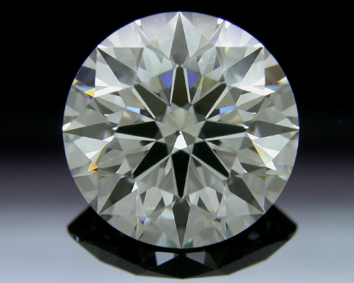 1.653 ct I SI1 A CUT ABOVE® Hearts and Arrows Super Ideal Round Cut Loose Diamond