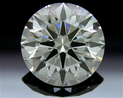 1.617 ct I SI1 A CUT ABOVE® Hearts and Arrows Super Ideal Round Cut Loose Diamond