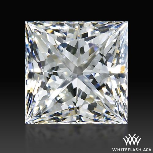 0.703 ct H VS1 A CUT ABOVE® Princess Super Ideal Cut Diamond