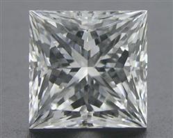 0.75 ct E VS2 A CUT ABOVE® Princess Super Ideal Cut Diamond