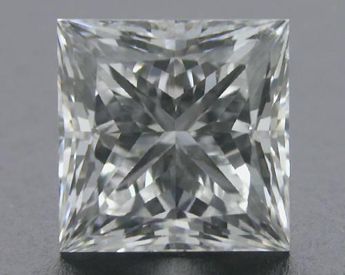 0.766 ct E SI1 A CUT ABOVE® Princess Super Ideal Cut Diamond