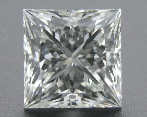 0.728 ct I VS2 A CUT ABOVE® Princess Super Ideal Cut Diamond