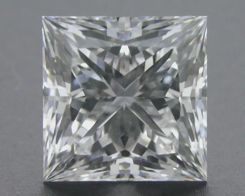1.095 ct F SI2 A CUT ABOVE® Princess Super Ideal Cut Diamond