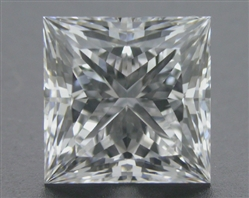 1.095 ct F SI2 A CUT ABOVE® Princess Super Ideal Cut Diamond