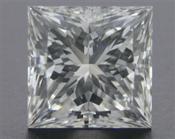 1.128 ct I SI1 A CUT ABOVE® Princess Super Ideal Cut Diamond
